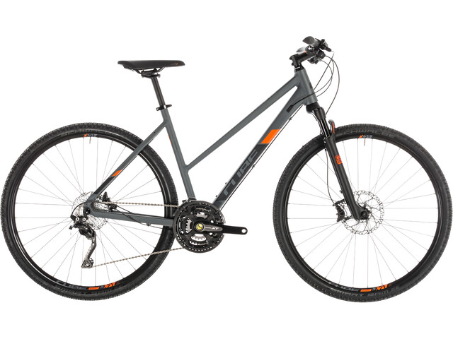 Cube Cross EXC trapecios, grey'n'orange
